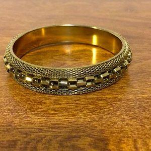 Vintage Bangle bracelet goldtone